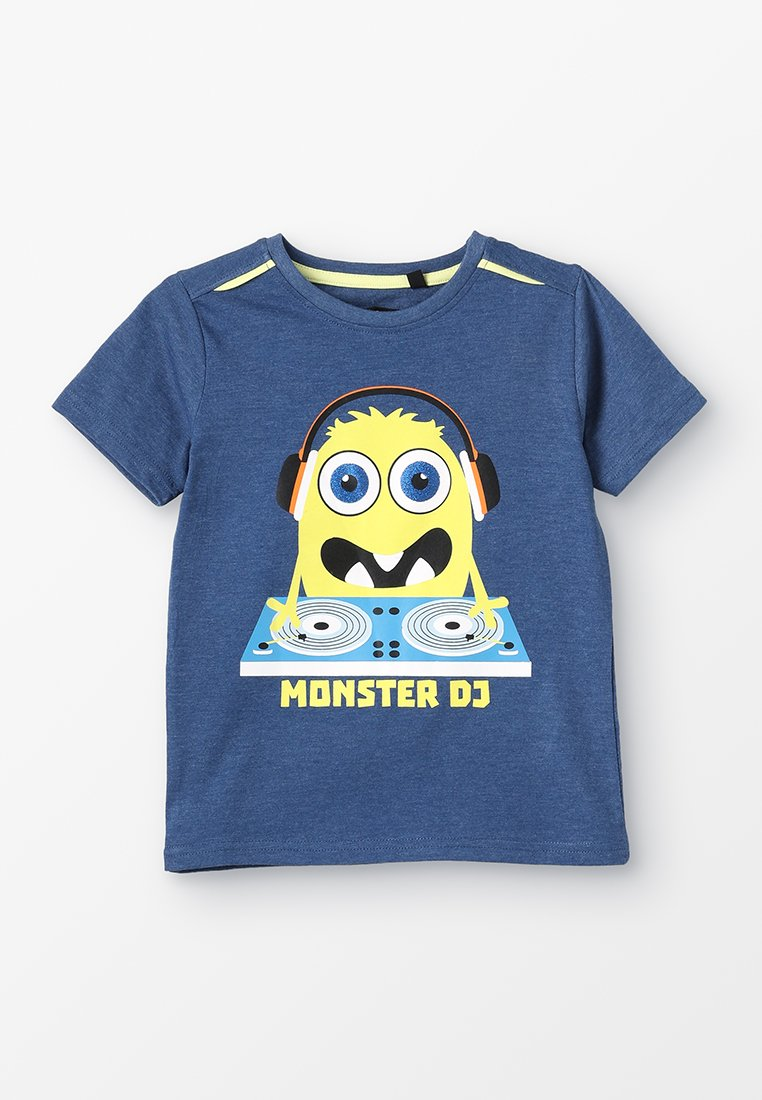 Lemon Beret - SMALL BOYS - T-shirts med print - blue melange
