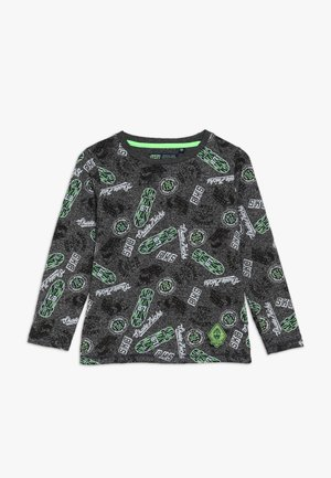 SMALL BOYS  - Long sleeved top - dark grey melange