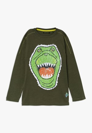 SMALL BOYS - Longsleeve - olive night