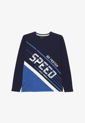 TEEN BOYS  - Long sleeved top - medieval blue
