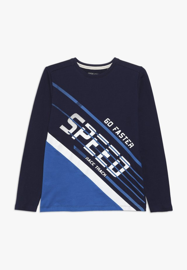 TEEN BOYS  - Long sleeved top - medieval blue