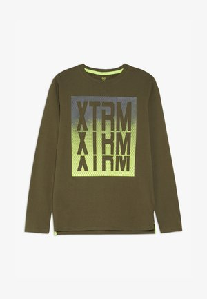TEEN BOYS  - Long sleeved top - olive night