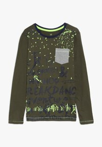 Lemon Beret - TEEN BOYS - Langarmshirt - olive night - 0