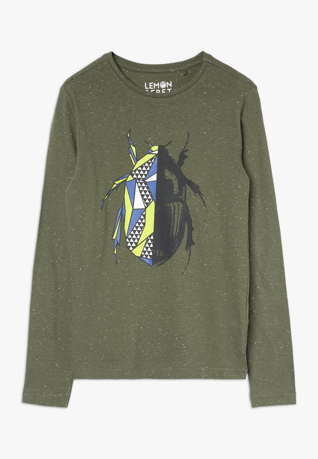 TEEN BOYS - Long sleeved top - four leaf clover