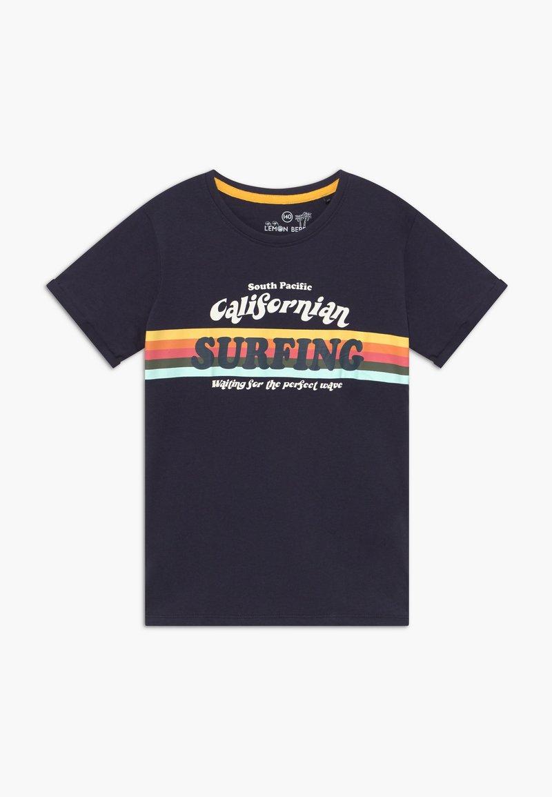 Lemon Beret - TEEN BOYS - T-shirt imprimé - navy blazer