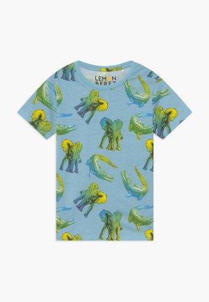 SMALL BOYS - Print T-shirt - blue bell