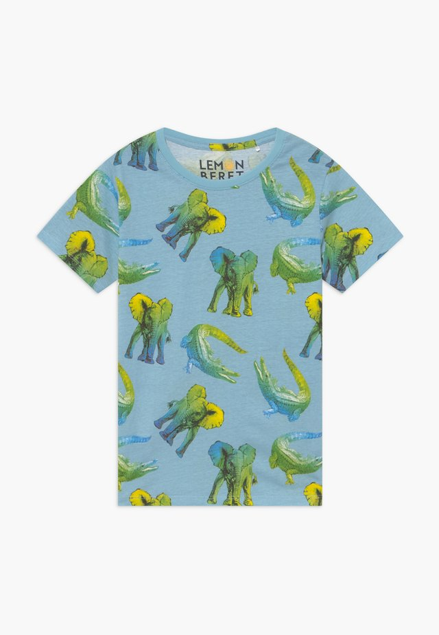 SMALL BOYS - T-shirt z nadrukiem - blue bell