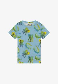 Lemon Beret - SMALL BOYS - Print T-shirt - blue bell - 2