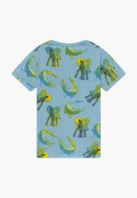 Lemon Beret - SMALL BOYS - Print T-shirt - blue bell - 1