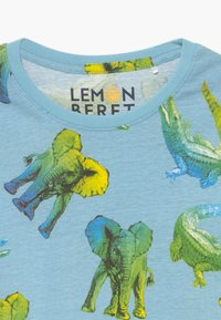 Lemon Beret - SMALL BOYS - Print T-shirt - blue bell - 3