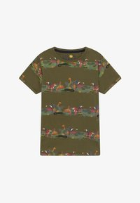 Lemon Beret - TEEN BOYS  - Camiseta estampada - burnt olive - 2