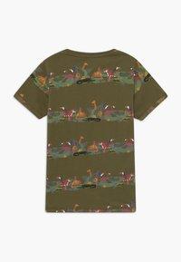 Lemon Beret - TEEN BOYS  - Camiseta estampada - burnt olive - 1