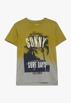 TEEN BOYS - T-shirt imprimé - aspen gold