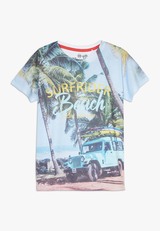 TEEN BOYS  - Print T-shirt - surfrider