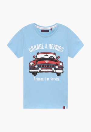 SMALL BOYS  - T-shirt print - blue bell