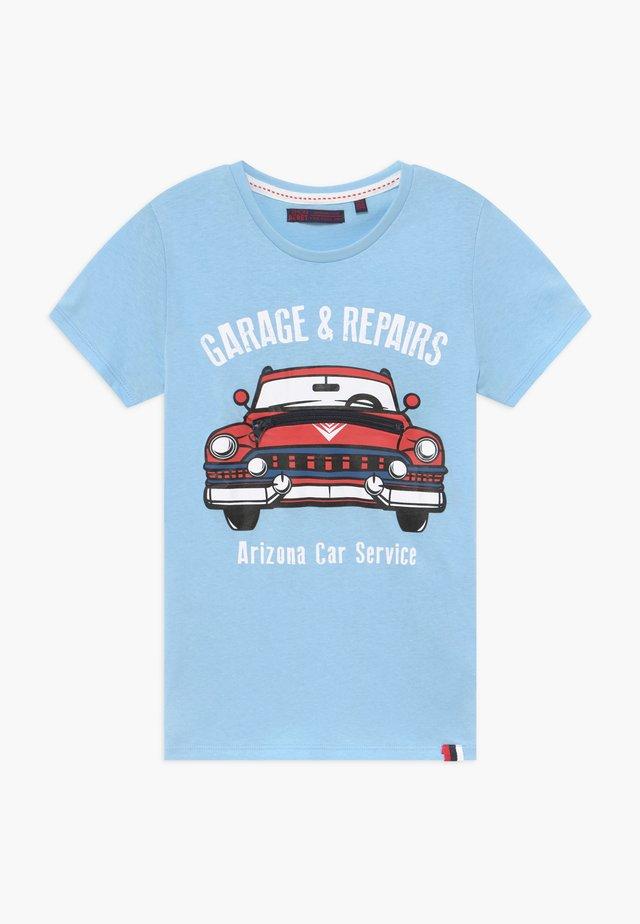 SMALL BOYS  - T-shirt imprimé - blue bell