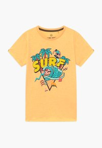 Lemon Beret - TEEN BOYS - T-shirts med print - yellow melange - 0