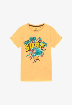 TEEN BOYS - Camiseta estampada - yellow melange