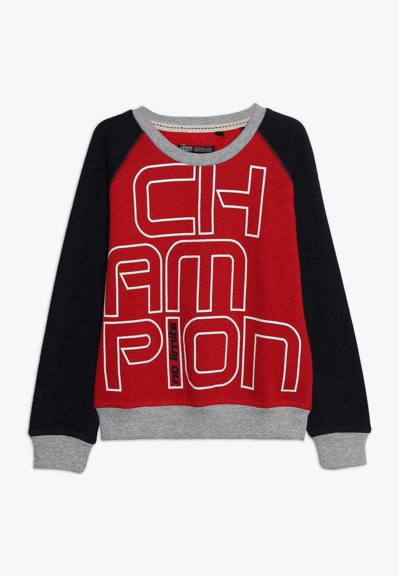 Lemon Beret - SMALL BOYS  - Sweatshirt - ribbon red