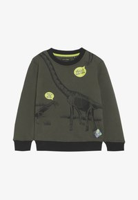 Lemon Beret - SMALL BOYS - Collegepaita - olive night - 3