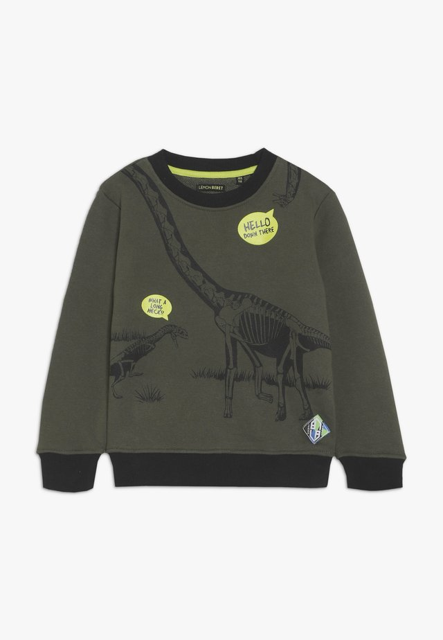 SMALL BOYS - Bluza - olive night