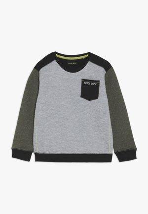 SMALL BOYS - Sweatshirt - green speckle