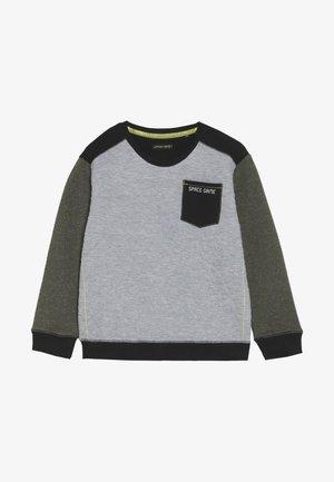 SMALL BOYS - Sweatshirts - green speckle