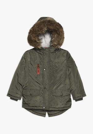 SMALL BOYS JACKET - Vinterfrakker - olive night