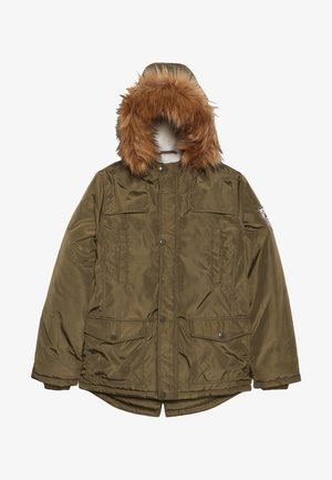 TEEN BOYS - Zimní kabát - olive night