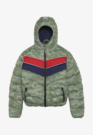 TEEN BOYS JACKET - Winter jacket - green