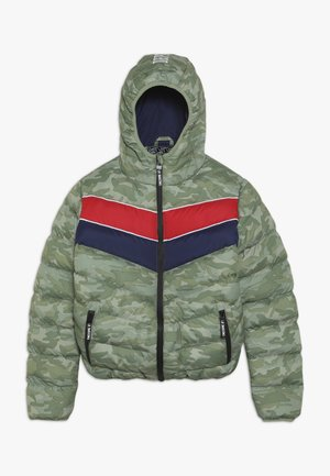 TEEN BOYS JACKET - Winterjas - green