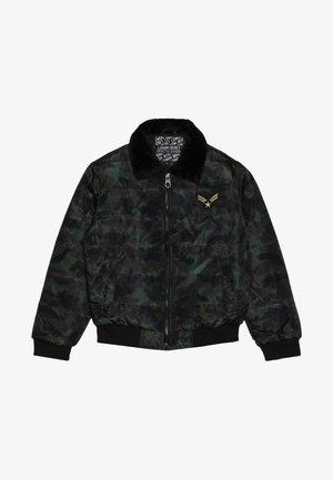 TEEN BOYS JACKET - Zimní bunda - khaki/black