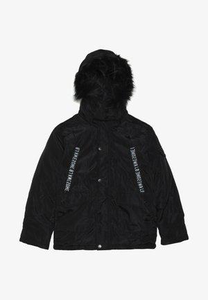 TEEN BOYS JACKET - Winter jacket - black