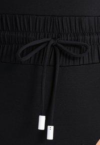 Les Girls Les Boys - TRACK SWIMSUIT - Swimsuit - black - 5