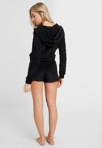 Les Girls Les Boys - TERRY SHORT - Pyjama bottoms - black - 2