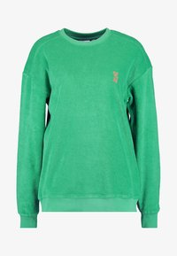 Les Girls Les Boys - TERRY CREW NECK - Maglia del pigiama - green - 3