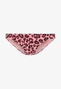 Les Girls Les Boys - LEOPARD BRIEF - Bikinibukser - pink - 3