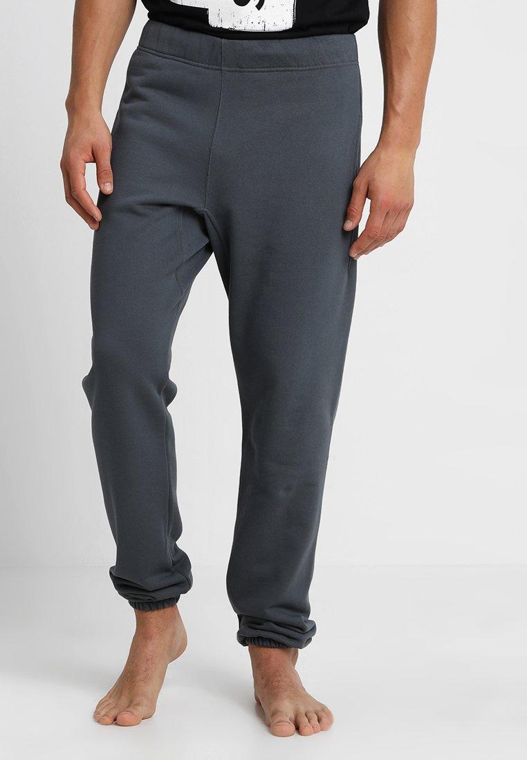 Les Girls Les Boys - TRACK PANT BIG LOGO - Pyjamasbukse - slate