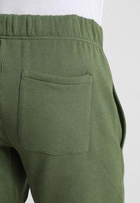 Les Girls Les Boys - TRACK PANT BIG LOGO - Pyjama bottoms - khaki - 4
