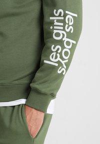 Les Girls Les Boys - LOOPBACK  - Pyjama top - khaki - 5