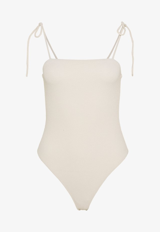 ONE PIECE SOLEIL - Badeanzug - nude