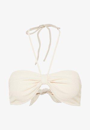 COQUILLAGE - Bikini top - nude