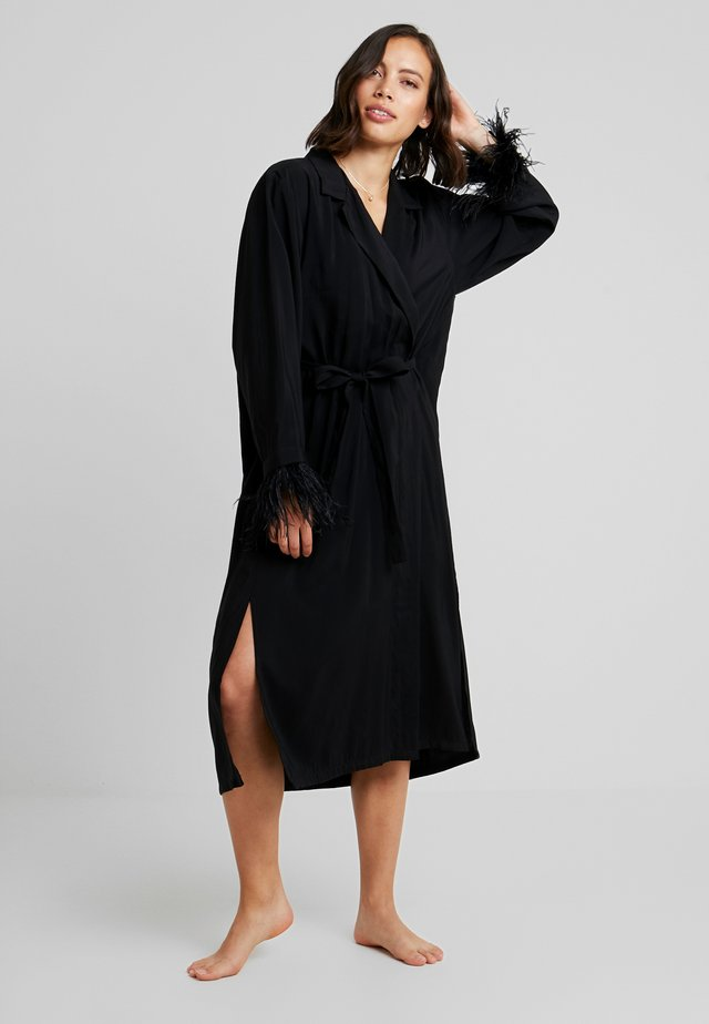 ROBE LUXURE - Badjas - black
