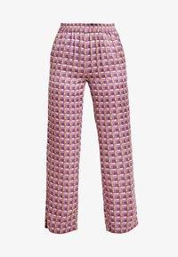 Levete Room - FIONA - Pantalones - rose dust combi - 3