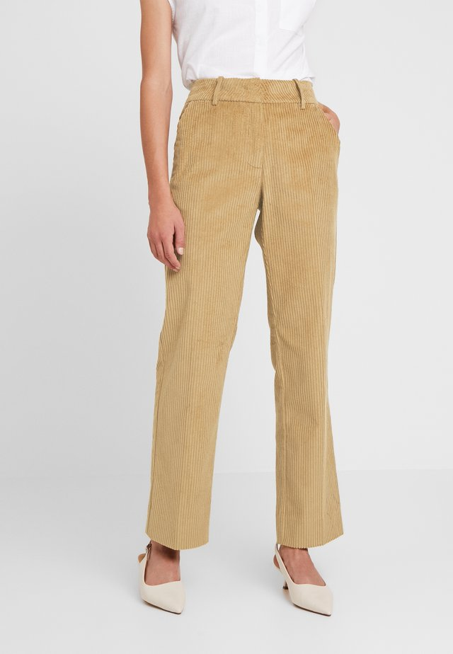 GERTRUD - Trousers - brown clay