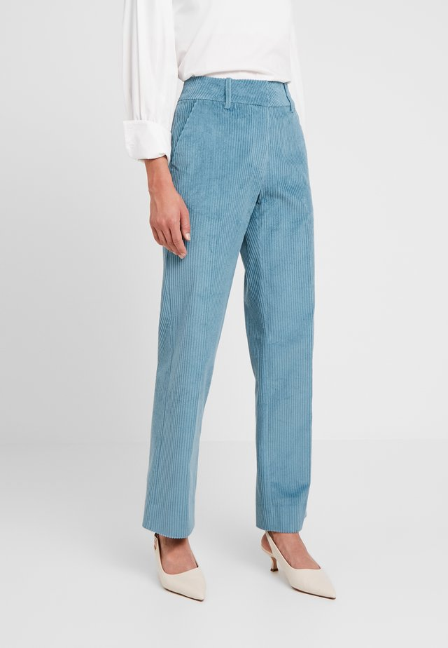 GERTRUD - Trousers - adriatic blue