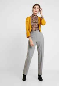 Levete Room - GUNILLA - Trousers - light grey melange - 2