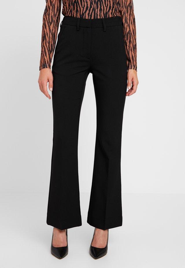 HELENA - Trousers - black