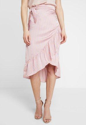 Falda cruzada - peach combi