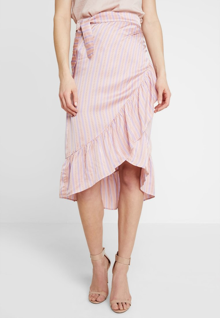 Levete Room - Wrap skirt - peach combi